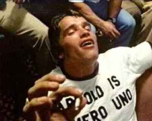 Arnold Schwarzenegger smokes cannabis marijuana