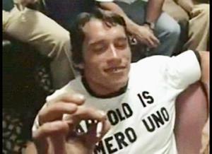 Arnold Schwarzenegger marijuana smoker