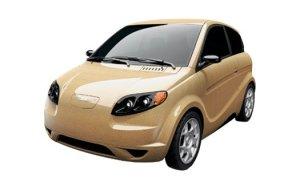Hemp body Kestrel car