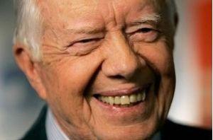 Jimmy Carter, Ex Président et Prix Nobel de la Paix en 2002