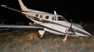 smuggling plane found without pilot
